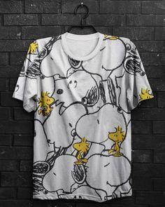 Camiseta Snoopy Woodstock