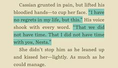 Second if Cassian is.broken after watching his soldiers die imma kill myself. Third fuck him right there Nesta :) A Court Of Wings And Ruin, A Court Of Mist And Fury, Sarah J Maas Books, Throne Of Glass, Book Fandoms, Book Nerd, Book Series, Have Time, Book Quotes