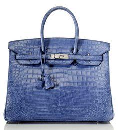Blue Birkin, Hermès