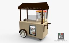 Food Stall Design, Food Cart Design, Food Truck Design, Bakery Icon, Soup Bar, Mobile Cafe, Mobile Food Trucks, Ice Cream Cart, Waffle House