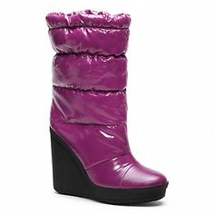 FARRAN Coach boot.  Too cool!