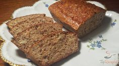 Healthy bread without flour Slovak Recipes, Russian Recipes, Low Carb Recipes, Bread Recipes, Cooking Recipes, German Bakery, Cookie Do, Vegan Desserts, Baked Goods