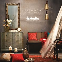Give perfect accents to your living spaces with Fabindia's New Collection - Rajwada!  Bed Linen, Table Linen, Giftware, Furniture & More. Shop Now. Free Shipping Worldwide!