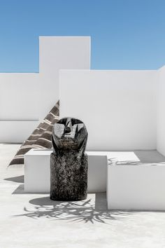 This outdoor sculpture is available in various sizes. Weylandts, Outdoor Sculpture, South Africa, Concrete, Vase, Rock, Home Decor, Homemade Home Decor, Stone