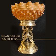 Silver Plated Figural Bride's Bowl - 1880's - 100% original