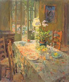 Kitchen at Feraillou - Susan Ryder