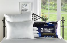 Groupon - Better Dreams Four Hotel-Quality Non-Allergenic Fibre-Filled Pillows. Hotel Quality Pillows, Online Shopping Deals, Support Pillows, Pillow Fight, Fun Activities, Bed Pillows, Best Gifts, Fiber, Packing