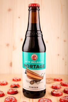 New Belgium Portage!  Portage, Porter, Craft Beer, New Belgium Brewing Budweiser Steins, Craft Bier, Beer Maker, I Like Beer, Beer Photos, Dark Beer, Memory Crafts, Beers Of The World, Brewing Beer