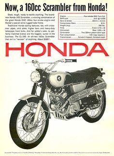 Honda CL160, Honda Motorcycles
