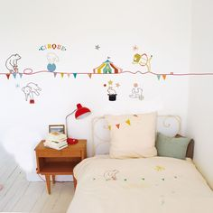 Circus Wall Frieze Sticker..all so adorable!