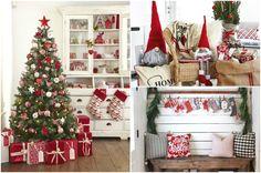 Яркие предметы декора с новогодней символикой
