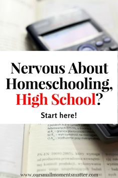 Need to know how to homeschool high school?  Here are some tips to get you started.  Also free printable!  #homeschool #highschool #help