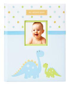 Look at this #zulilyfind! Dinosaur Baby Book by Tiny Ideas #zulilyfinds