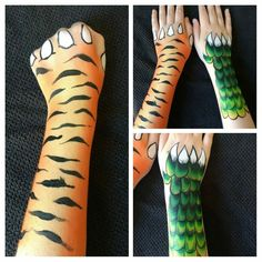 kinderschminken Is It Really Teak Wood? Face Painting For Boys, Leg Painting, Face Painting Designs, Facial, Tiger Face Paints, Animal Face Paintings, Arm Art, Boy Face, Festival Makeup