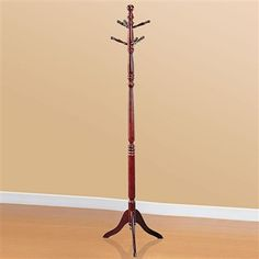 Traditional Classic Stylish Sturdy Warm Cherry Coat Hat Hall Rack Tree