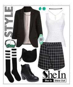 """Plaid Style"" by bee4735 on Polyvore featuring Wet Seal, Thalia Sodi, Forever 21 and Bling Jewelry"