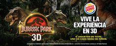 #BKcoolstuff ¿Quiénes ya vieron Jurassic Park 3D? Coméntamos qué te pareció.  Recuerda pasar a #BurgerKing por uno de los 8 juguetes coleccionables.   ¿Ya tienes el tuyo?