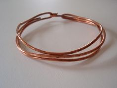 Copper Bracelet, fits to 7 1/2 inch wrist.