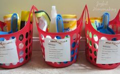 Creating chore kits is a super way to get cleaning done efficiently around the house, and my free chore printables for each room makes it easy!