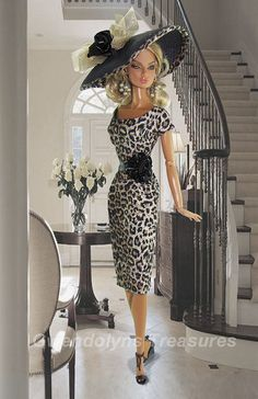 Leopard by Gwendolyns Treasures, I know it is a doll, but the outfit is great…
