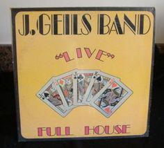 J. Geils Band Lp Live Near Mint