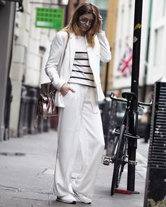 This white suit has had so many compliments while I've been at #LFW
