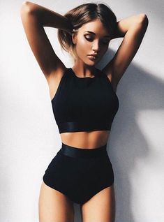 Photo Body Goals Photophoto - Photo Body Goals Photophoto Source by - Mode Outfits, Sport Outfits, Summer Outfits, Fashion Outfits, Fashion Tips, Body Inspiration, Fitness Inspiration, Mode Ootd, Jolie Lingerie