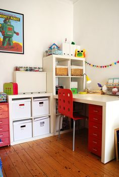 Craft Space Ideas: My craft space Space Crafts, Craft Space, Craft Rooms, New Crafts, Home Office, Corner Desk, New Homes, Layout, Crafty