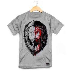 Camiseta Masculina Jesus&lion - Coletivo Emaús Loja Online