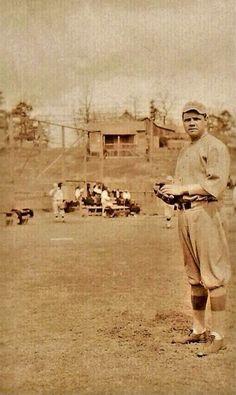 Babe Ruth 1915 at Arkansas Spring training