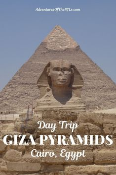 The Giza Pyramids are a must on any trip to Cairo, Egypt. The Pyramid of Menkaure is the pyramid of Khufu's grandson. Join the 4 JL's as they explore this treasure of Africa! Travel Inspiration, Travel Ideas, Travel Tips, Travel Advice, Travel Plan, Egypt Travel, Africa Travel, Africa Destinations, Travel Destinations
