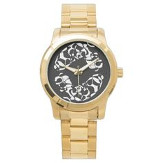 Mystical Symbols Protective Sumerian Script Watch - diy cyo customize create your own personalize