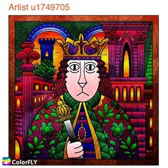 The king should has a poker face or a warm smile face?  Leave your answer below to let us know!  Or share your same theme coloring masterpiece with us here! ----------------- Let more people see your masterpiece   Tag/DM me or #colorfly #colorflyapp #colorflyart to spread your art. ----------------- #freeapp #coloringapp #pigmentapp #adultcoloringapp #coloring #coloringbook #coloringbookforadults #coloringbooks #coloringpages#coloringtime #adultcoloring #stressfree #stressrelief #colorfy…