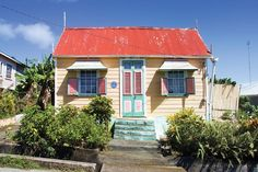 A Travel Article from My Destination Barbados - The Bajan Chattel House - A Moveable Possession