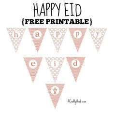 ACraftyArab: Happy Eid Salmon {Printable}. Day 15 means we are halfway through our Ramadan crafts challenge. This means that Eid Al-Fitr, the holiday to commemorate the end of Ramadan, is right around the corner. For those thinking of Eid decorations, I wanted to share the printables I made today to start getting ready. They are an update of …