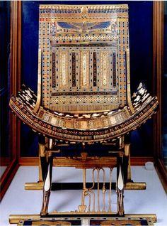 King Tuts ceremonial chair.
