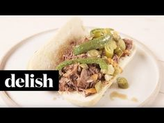 Jeff Mauro's Italian Beef Sandwiches - Best Pot Roast Recipe - Delish.com