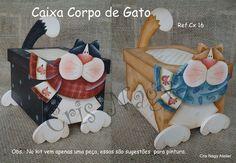 Caixa Corpo de Gato Cx 16 - CRIS NAGY ATELIER