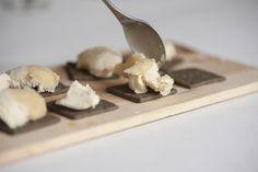 Gorgonzola Honig Semi Freddo Posca, Feta, Dairy, Cheese, Food Food, Baking