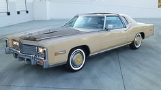 1978 Cadillac Eldorado Biarritz Custom Classic Edition, 1,100 Miles presented as lot G125.1 at Kissimmee, FL 2015 - not sold; high bid of $20,000