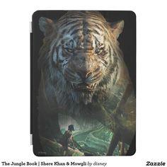 The Jungle Book | Shere Khan & Mowgli iPad Air Cover #carcasas #cases