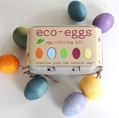 The original eco-dye egg kit for Easter! The Original all natural egg coloring kit. just got even better! Now includes grass growing kit on which to display finished eggs. Fun for the kids, great fo Easter Eggs Kids, Easter Egg Dye, Coloring Easter Eggs, Egg Coloring, Coloring Set, Easter Bunny, Eco Kids, Purple Sweet Potatoes, Kids Usa