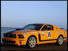 2007 Ford Mustang Saleen Parnelli Jones Edition 302/400 HP, 5-Speed  #Mecum #Anaheim