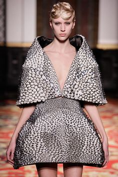 3 | Iris van Herpen's 3-D-Printed, Laser-Sintered Couture | Co.Design: business + innovation + design