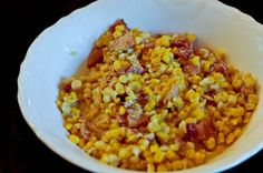 Southern Fried Corn Recipe on Yummly. Southern Side Dishes, Southern Recipes, Southern Food, Fried Corn Recipes, Vegetable Recipes, Southern Fried Corn, Great Recipes, Favorite Recipes, Unique Recipes