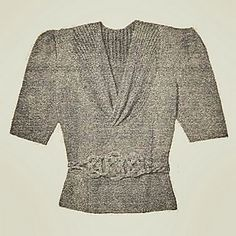 Ravelry: Chic Blouse for You to Knit pattern by Australian Women's Weekly