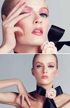 Daria Strokous for Christian Dior Cosmetics Spring 2013 by Steven Meisel