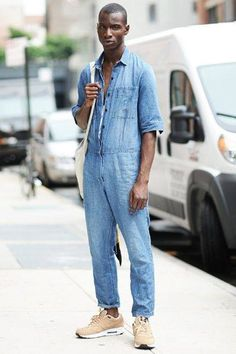 denim all the way // casual street style & fashion