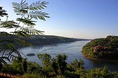 Triple frontera - Puerto Iguazu, Misiones Argentina - Brazil - Paraguay