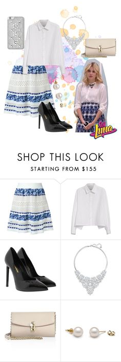 """soy luna"" by maria-cmxiv on Polyvore featuring Cecilia Pradomurion, Y's by Yohji Yamamoto, Yves Saint Laurent, Swarovski, Dolce&Gabbana and MICHAEL Michael Kors"